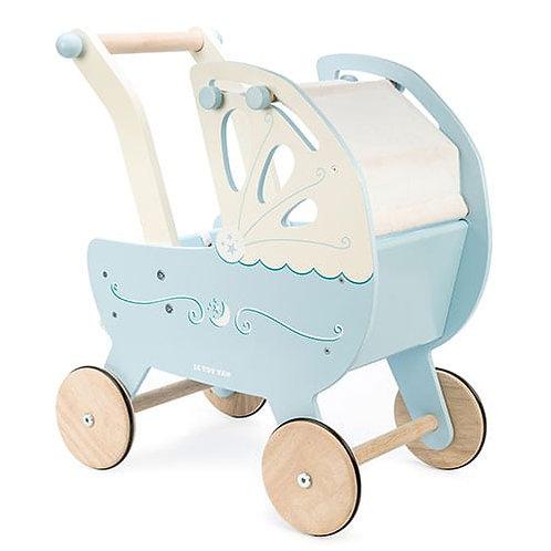 Le Toy Van – Moonlight Wooden Pram (Blue)