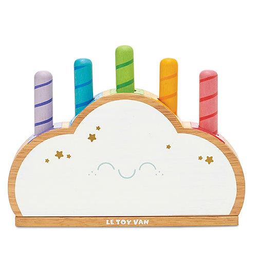Le Toy Van – Petilou Rainbow Cloud Pop PL133