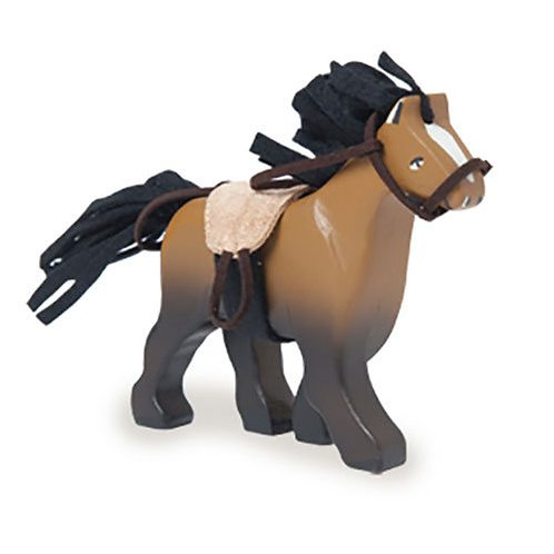 Le Toy Van – Brown Wooden Horse