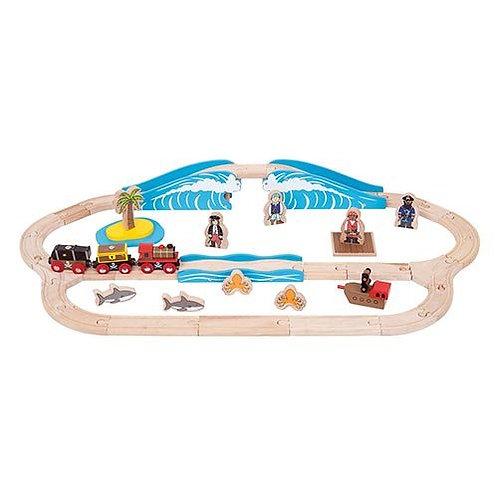Big Jigs – Pirate Train Set