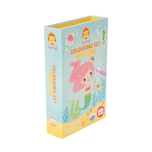 Tiger Tribe – Colouring Set – Mermaids  (Bestseller)