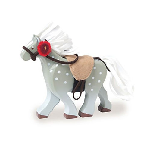 Le Toy Van – Grey Wooden Horse
