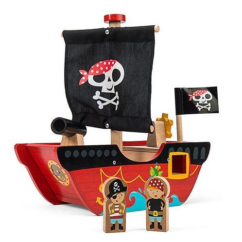 Le Toy Van – Little Capt'n Pirate Boat