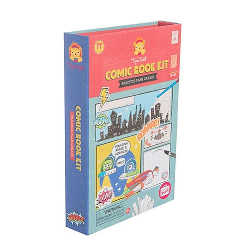 Tiger Tribe – Comic Book Kit – Practice.Plan.Create
