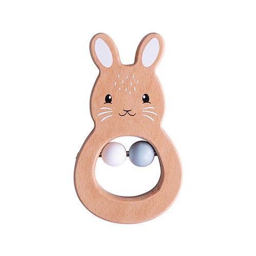 Bigjigs – Rabbit Rattle – FSC Range