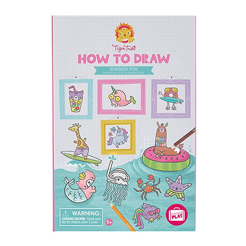 Tiger Tribe – How to Draw – Summer Fun