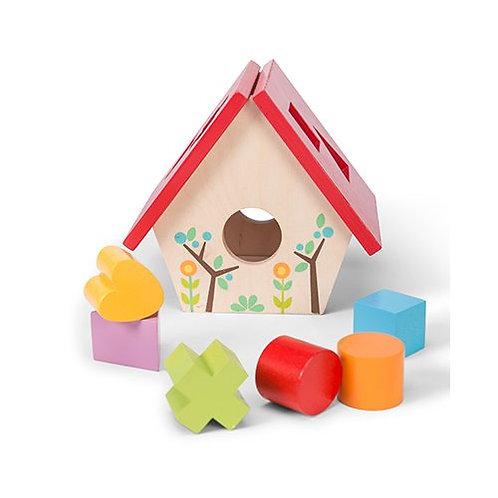 Le Toy Van – Petilou My Little Bird House Shape Sorter PL085