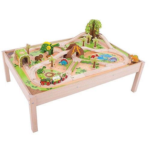 Big Jigs – Dinosaur Train Set and Table