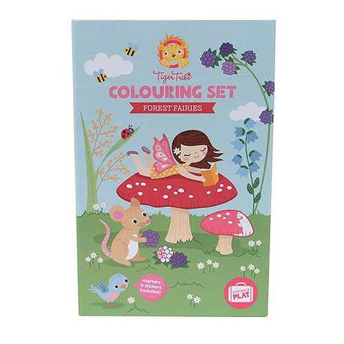 Tiger Tribe – Colouring Set – Forest Fairies  (Best seller)