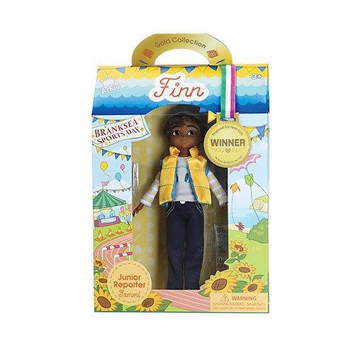Lottie Doll – Junior Reporter Sammi (Boy Doll)