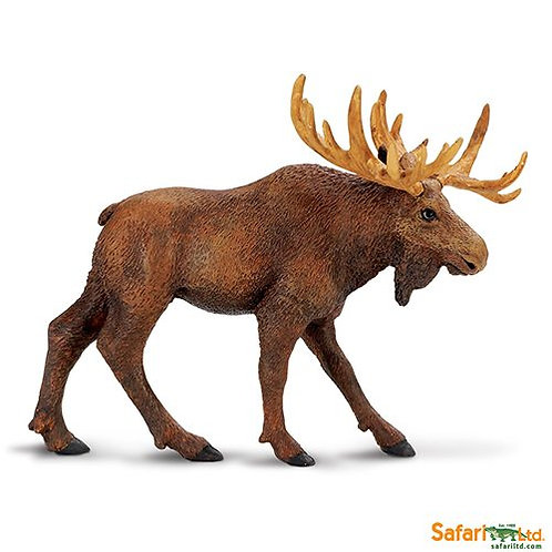 Safari Ltd – Moose (Wild Safari – North American Wildlife) 290029