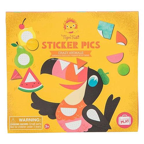 Tiger Tribe – Sticker Pics – Crazy Animals
