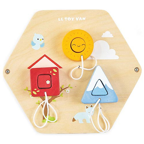 Le Toy Van – Petilou Activity Tiles – Shapes PL125