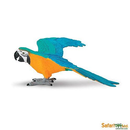 Safari Ltd – Blue & Gold Macaw (Wings Of The World Birds) 264029