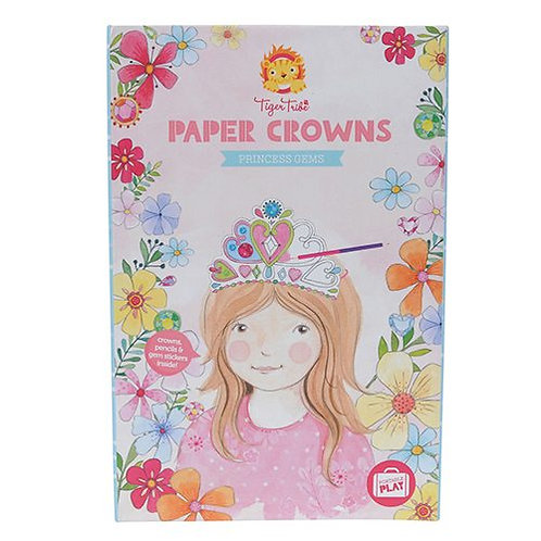 Tiger Tribe – Paper Crowns, Princess Gems