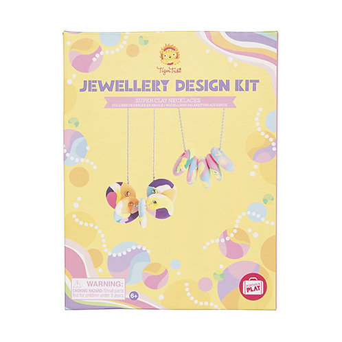 Tiger Tribe – Jewellery Design Kit – Super Clay Necklaces