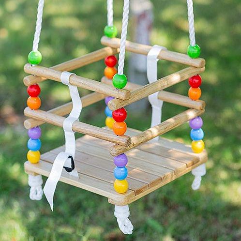 Bigjigs – Wooden Cradle Swing