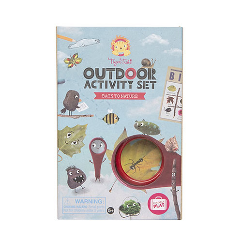 Tiger Tribe – Outdoor Activity Set – Back to Nature