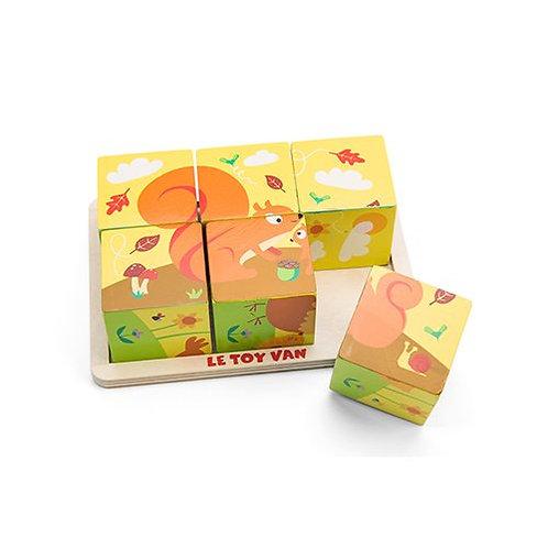 Le Toy Van – Petilou All Seasons Cube Puzzle PL086