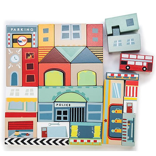 Le Toy Van – Timber Town Blocks