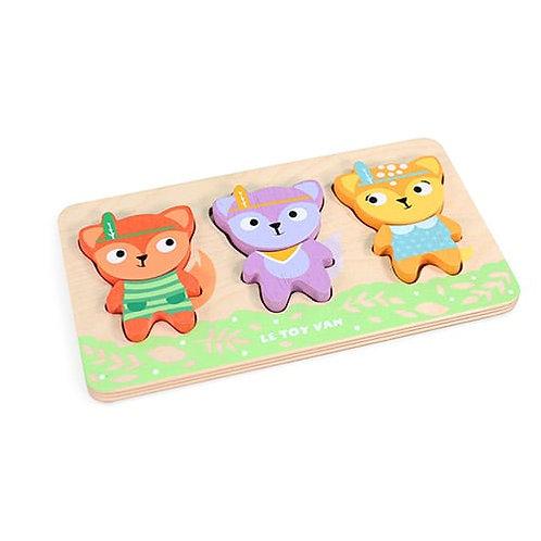 Le Toy Van – Petilou Little Fox Wooden Puzzle PL097