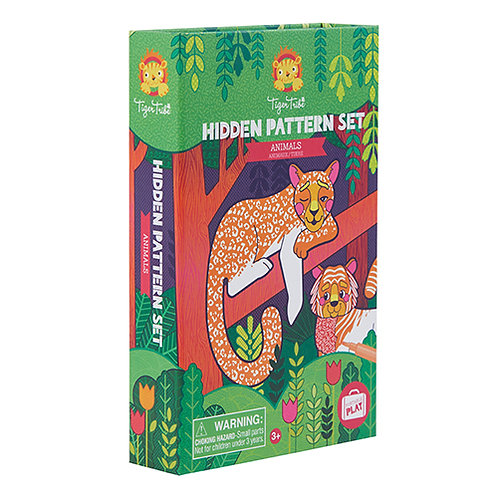 Tiger Tribe – Hidden Pattern – Animals