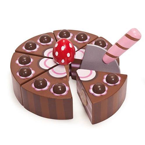 Le Toy Van – Honeybake Wooden Chocolate Gateau