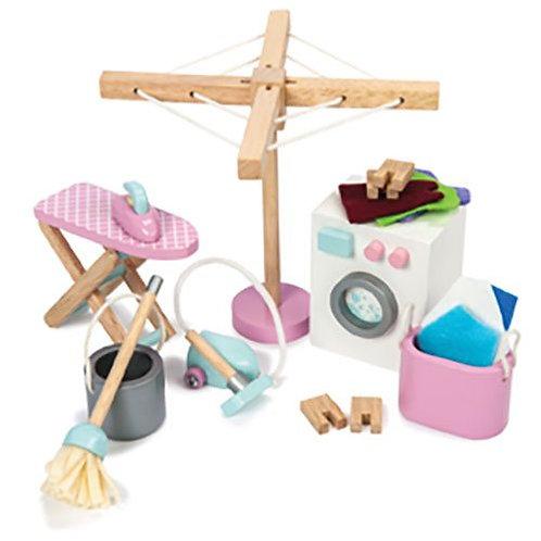 Le Toy Van – Wooden Laundry Room Set