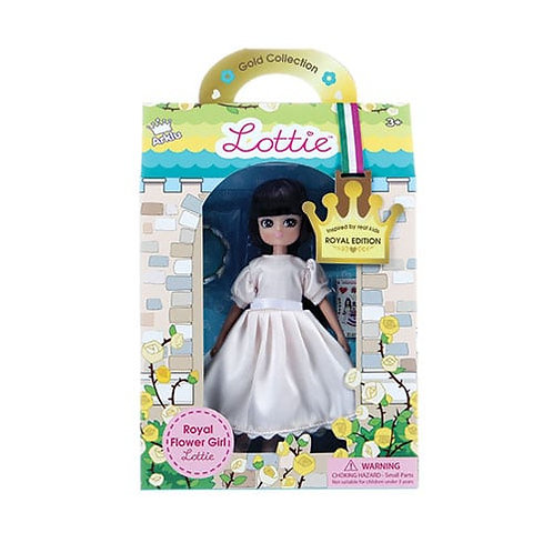 Lottie Doll – Royal Flower Girl (Gold Collection)