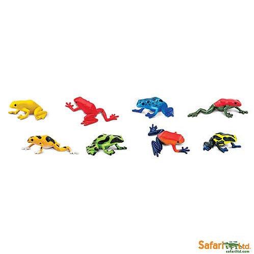 Safari Ltd – Poison Dart Frogs Toob 100121