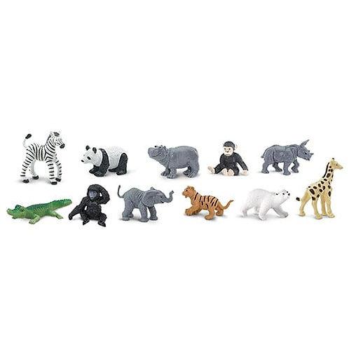 Safari Ltd – Zoo Babies Toob 680004