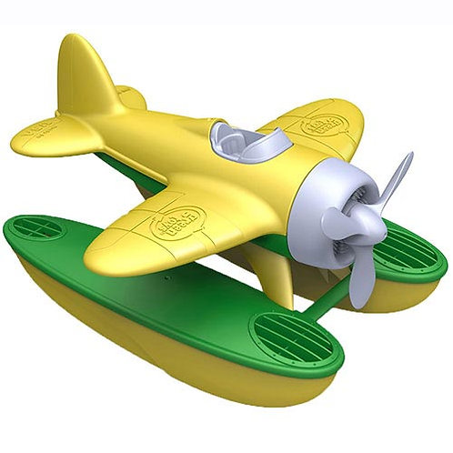 Green Toys – Seaplane with Yellow Wings