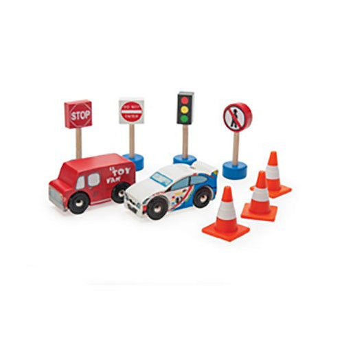 "Le Toy Van – Roadset ""Route & Toot"""