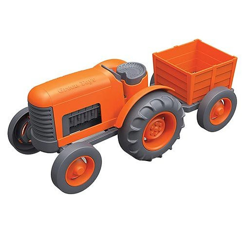 Green Toys – Orange Tractor