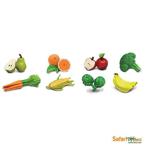Safari Ltd – Fruits & Vegetables Toob