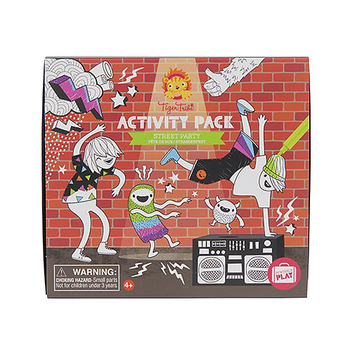 Tiger Tribe – Activity Pack – Street Party
