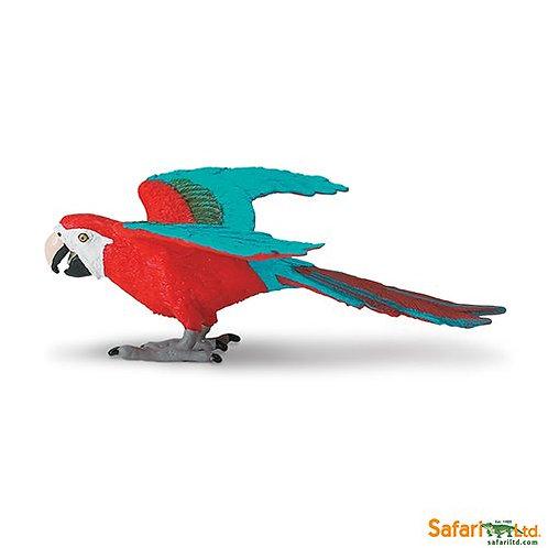 Safari Ltd – Green-winged Macaw (World Of The World Birds) 263929