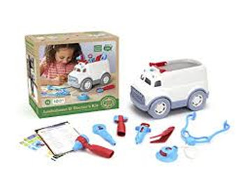 Green Toys – Ambulance & Doctor's Kit