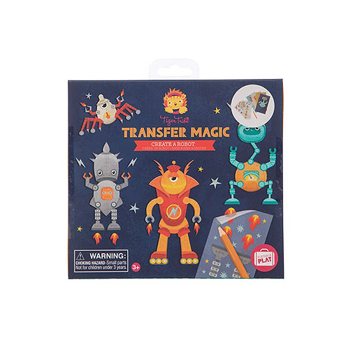 Tiger Tribe – Transfer Magic – Create A Robot