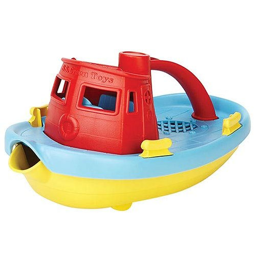 Green Toys – Tugboat Red Handle