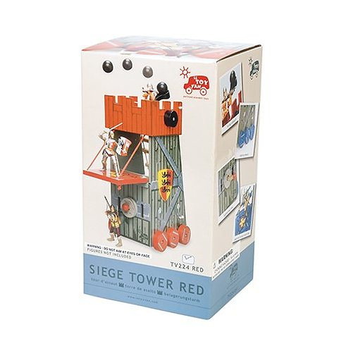 Le Toy Van – Wooden Siege Tower (Red)