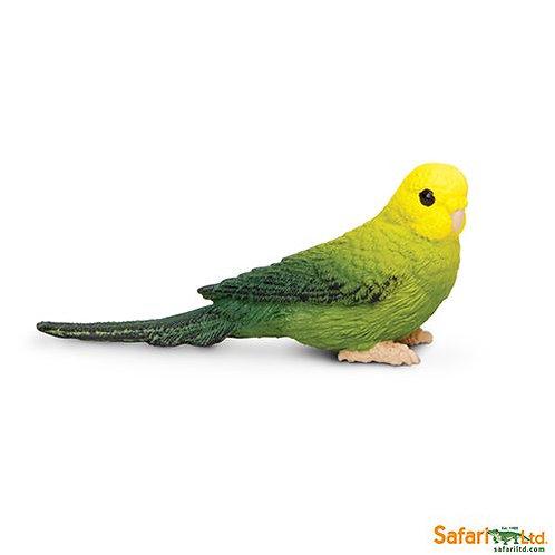 Safari Ltd – Green Budgie (Wings Of The World Birds) 150429