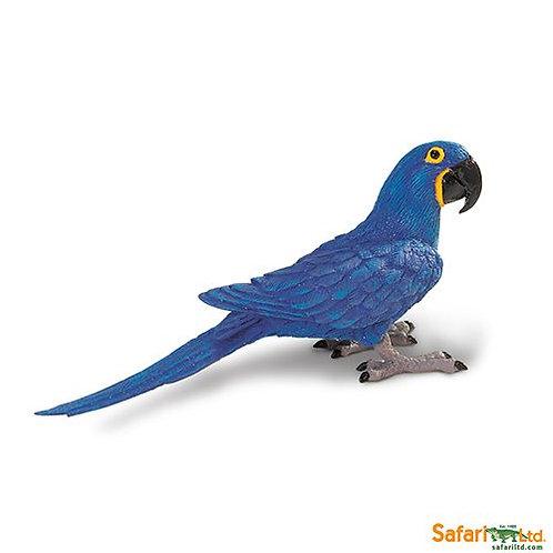 Safari Ltd – Hyacinth Macaw (Wings Of The World Birds) 264229