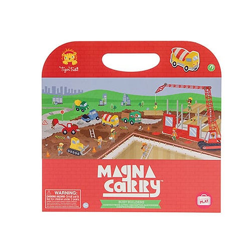 Tiger Tribe – Busy Builders Magna Carry Set