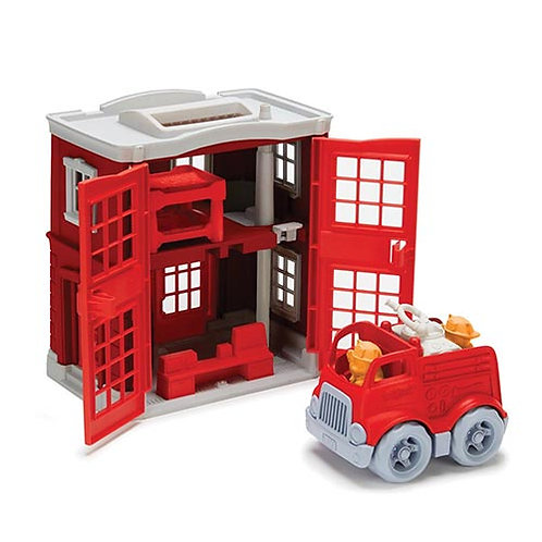 Green Toys – Fire Station Playset