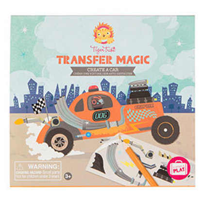 Tiger Tribe- Transfer Magic – Create A Car