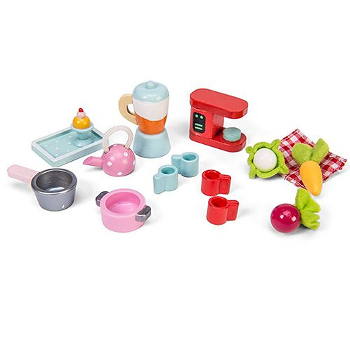 Le Toy Van – Tea-Time Wooden Accessory set