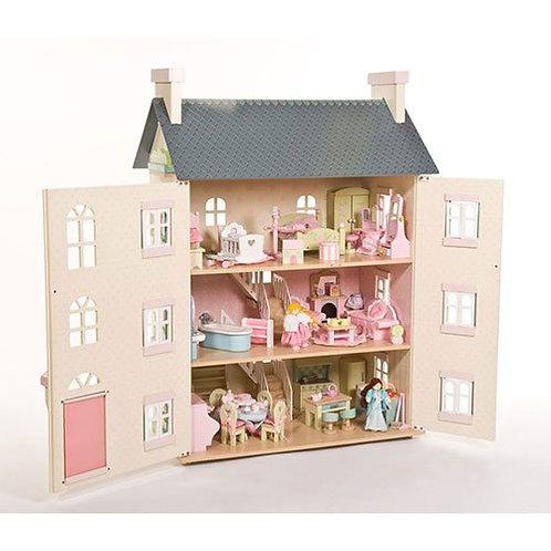 Le Toy Van – La Maison Cherry Tree Hall Wooden Dollhouse H150 (Bestseller)