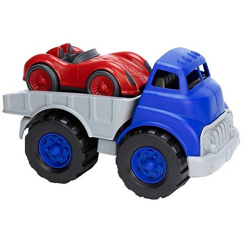 Green Toys – Flatbed Truck and Race Car