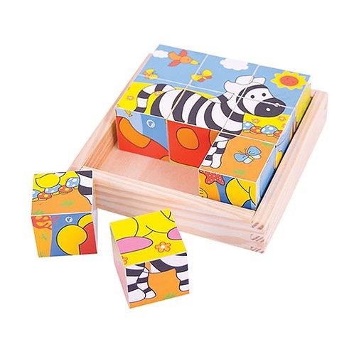 Big Jigs – Safari Cube Puzzle
